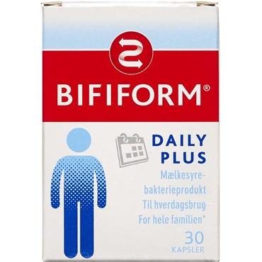 Image of   Bifiform daily plus kaps 30 stk
