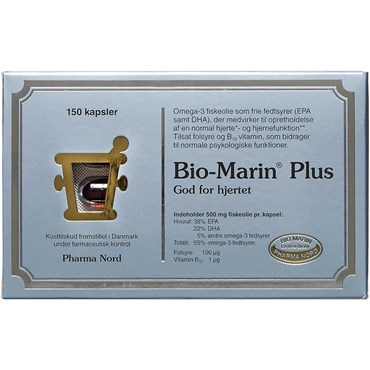 Image of   Bio-Marin Plus Kapsler 150 stk