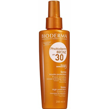 Image of   Bioderma Photoderm Bronz Spray SPF 30 200 ml