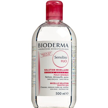 Image of   Bioderma Sensibio H2O rensevand 500 ml