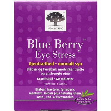 Image of   Blue berry eye stress tabl 60 stk