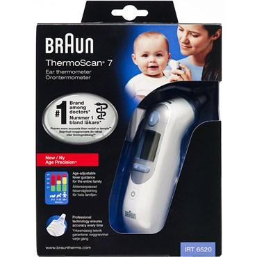 Braun ThermoScan 7 termometer med alders præcision - Apopro.dk 805c65c75585e