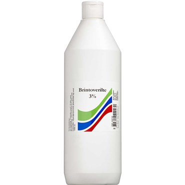 Image of   Brintoverilte 3 % opløsning S.A. 1000 ml