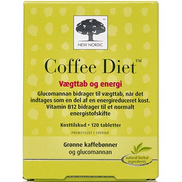 Coffee Diet tabletter 120 stk thumbnail