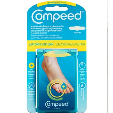 Image of   Compeed Moisturising Ligtorn 6 stk