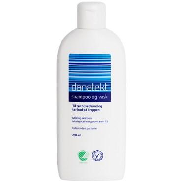 Image of   Danatekt Shampoo og vask U/P 250 ml