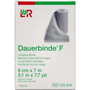 Image of   Dauerbinde f 8cm x 7m 1 stk