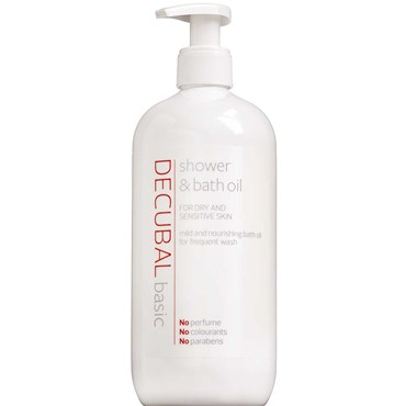 Image of   Decubal shower & bath oil 500 ml