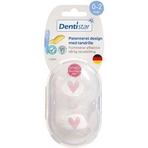 Image of   Dentistar skånesut nat.g 0-2 mdr. Ass. farver 2 stk