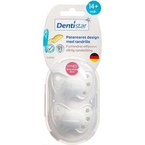 Image of   Dentistar skånesut naturg 14 mdr. Ass. farver 2 stk