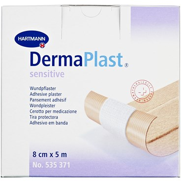 Image of   DermaPlast Sensitive plaster 8 cm x 5 m 1 stk