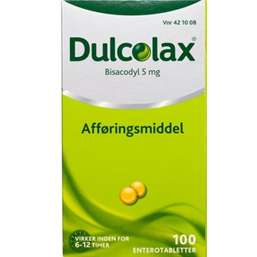 Image of   Dulcolax 100 stk Enterotabletter
