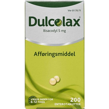 Image of   Dulcolax 200 stk Enterotabletter