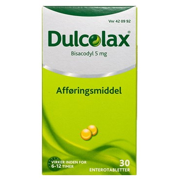 Image of   Dulcolax 30 stk Enterotabletter