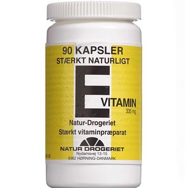e vitamin kapsler