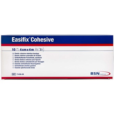 Image of   Easifix Cohesive 4 cm x 4 m 10 stk
