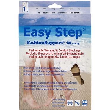 Easy Step knæ åben tå nude M 1 par thumbnail
