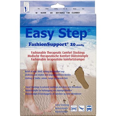 Image of   Easy Step knæ lukket tå nude M 1 par