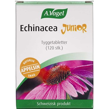 Image of   Echinacea Junior A. Vogel tyggetabletter 120 stk