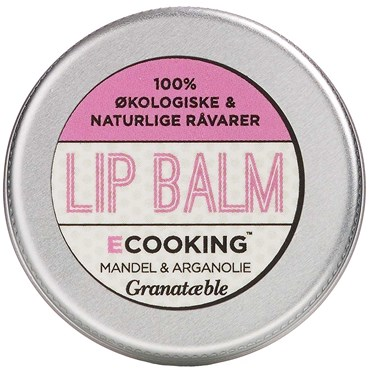 Image of   Ecooking lip balm granatæble 15 ml