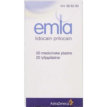 Image of Emla 20 stk Medicinsk plaster