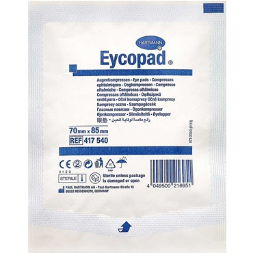 Image of   Eycopad Øjenforbinding 70 x 85 mm 1 stk