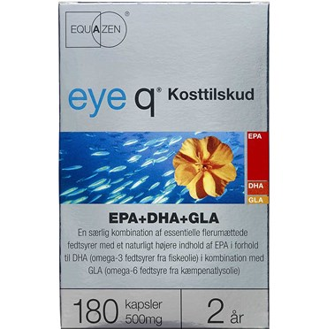 Image of   eye q kapsler 180 stk