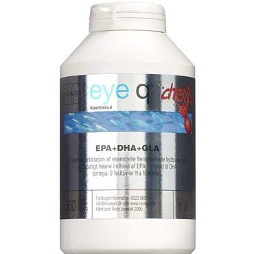 Image of   Eye-Q Tyggekapsler med jordbærsmag 360 stk