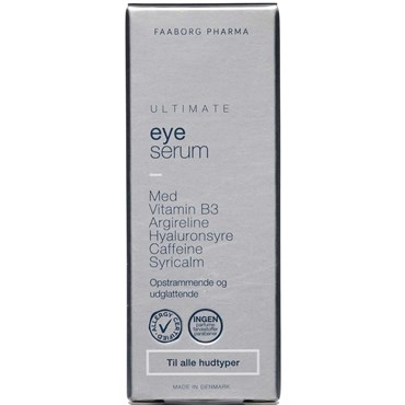 Image of   Faaborg ultimate eye serum 15 ml