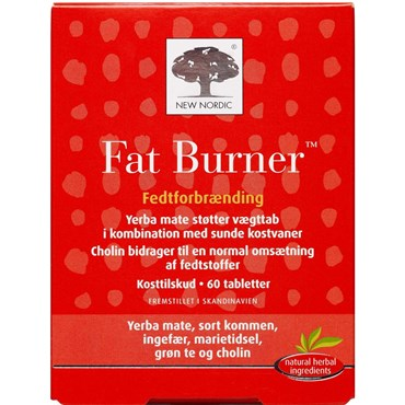 Image of   Fat Burner tabletter 60 stk