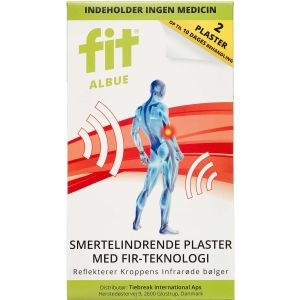 Image of   FIT albue plaster 2 stk