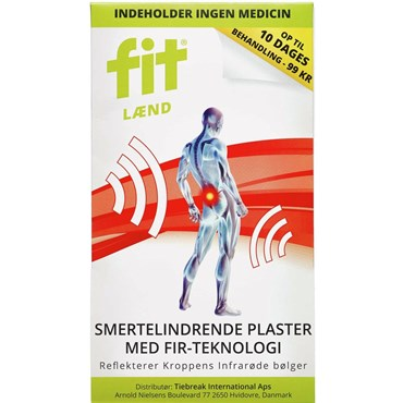 Image of   Fit lænde plaster 2 stk