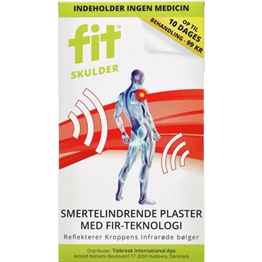Image of   Fit skulder plaster 2 stk