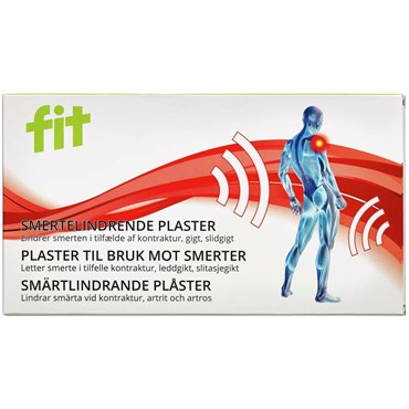Image of   Fit skulder plaster 8 stk