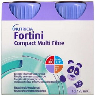 Image of   Fortini compact mf neutral 4 x 125 ml