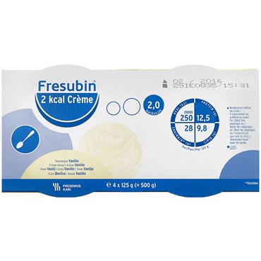 Image of   Fresubin 2 kcal Creme Vanille 4 x 125 g
