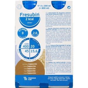 Image of   Fresubin 2 kcal drink cappu 4 x 200 ml