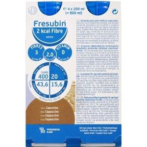 Image of   Fresubin 2 kcal fiber dr capp 4 x 200 ml