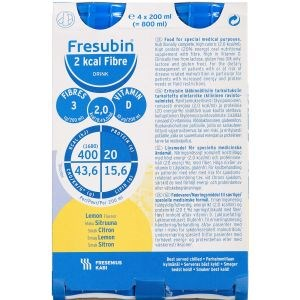 Image of   Fresubin 2 kcal fiber dr lemon 4 x 200 ml