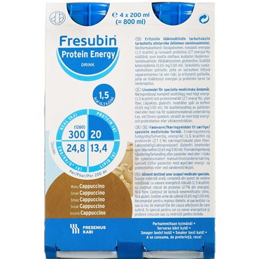 Image of   Fresubin pro.energy cappuccin 4 x 200 ml