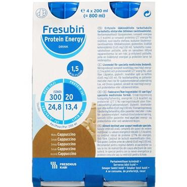 Billede af Fresubin Protein Energy Drink Cappuccino 4 x 200 ml