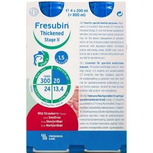 Image of   Fresubin thickend s.2 skovjor 4 x 200 ml