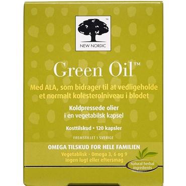 Billede af New Nordic, Green Oil kapsler 120 stk