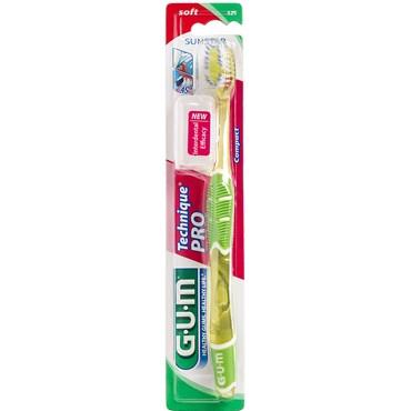 Image of   GUM Technique PRO tandbørste voksen, blød 1 stk