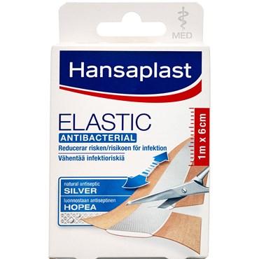 Image of   Hansaplast Elastic Strips med sølv 10 stk