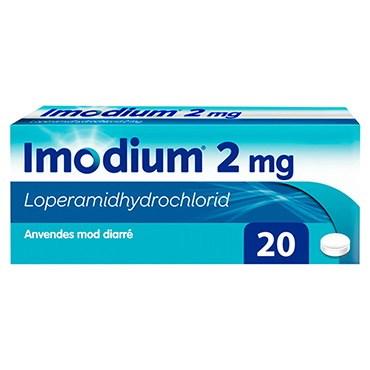 Imodium 20 stk Tabletter thumbnail