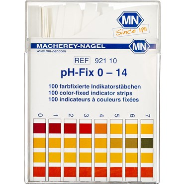 Image of   Indikator Sticks pH-Fix 1-14 100 stk