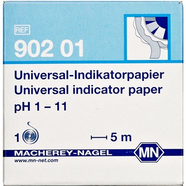 Image of   Indikatorpapir pH 1-11 5 m