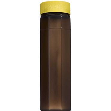 Image of   Kanylebeholder ottekantet 1,0 liter med gult låg 1 stk
