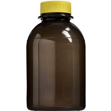 Image of   Kanylebeholder rund 2,5 liter med gult låg 1 stk